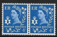 Sg XN4b 4d Northern Ireland with variety - flower flaw UNMOUNTED MINT