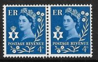 Sg XN5b 4d Northern Ireland with variety - flower flaw UNMOUNTED MINT