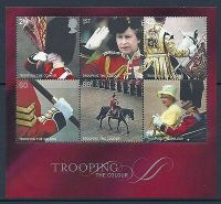 MS2546 2005 Trooping the Colour miniature sheet UNMOUNTED MINT