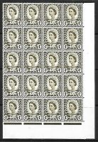 Sg XW8a + b 4d Wales with 2 listed varieties UNMOUNTED MINT