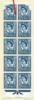Sg XJ9 Sg 14a 9d Jersey with variety - leaf dot UNMOUNTED MINT MNH