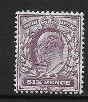 Sg 248 M32(1) 6d Dull Purple Chalky De La Rue UNMOUNTED MINT MNH